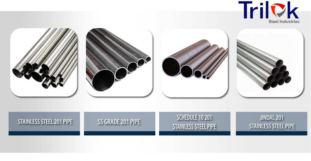 201 Stainless Steel Pipe Suppliers in India