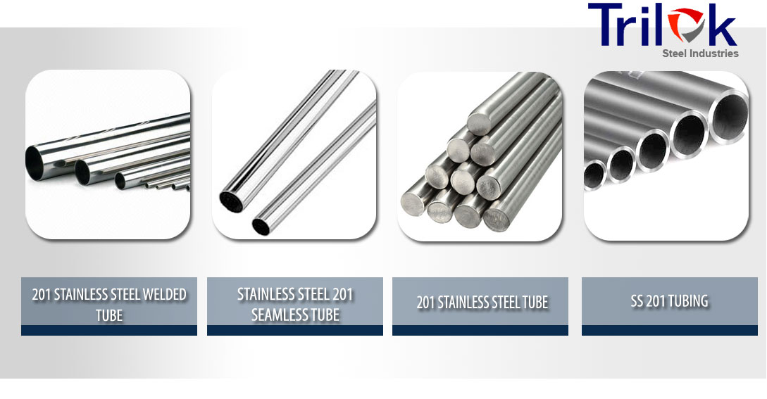 201 Stainless Steel Tube Suppliers in India