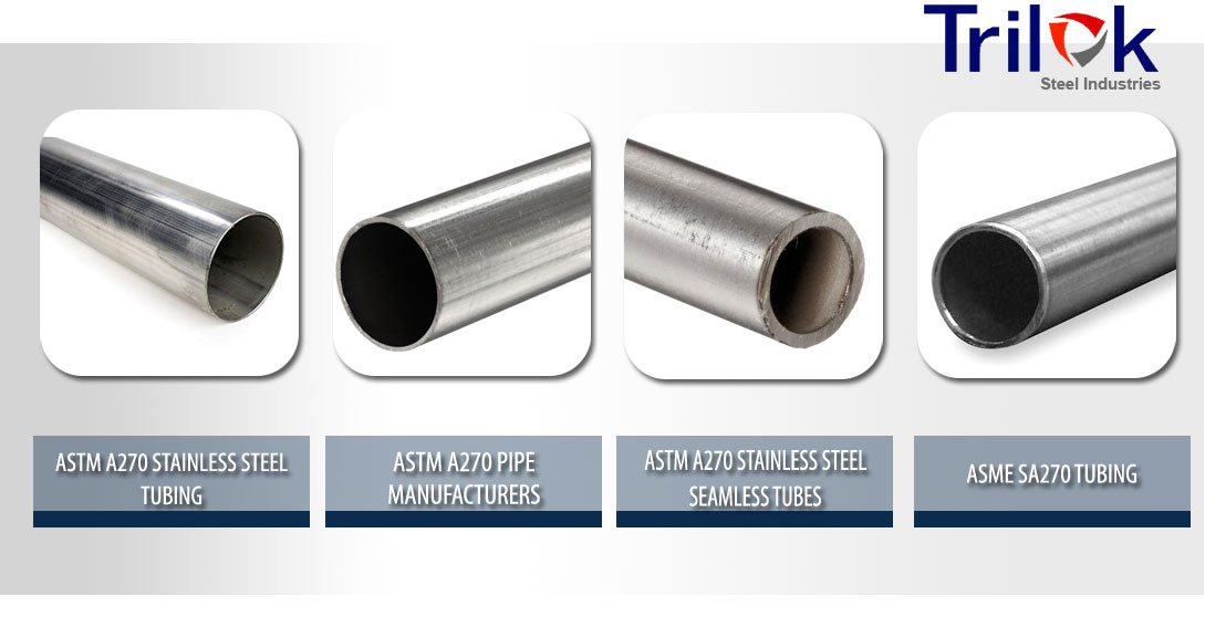 ASTM A270 Tubing Suppliers in India