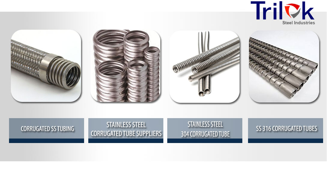 Stainless Steel Corrugated Tube Suppliers