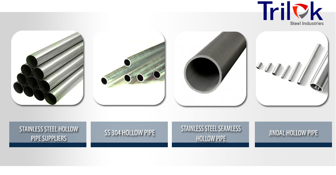 Stainless Steel Hollow Pipe Suppliers, SS 304 Seamless