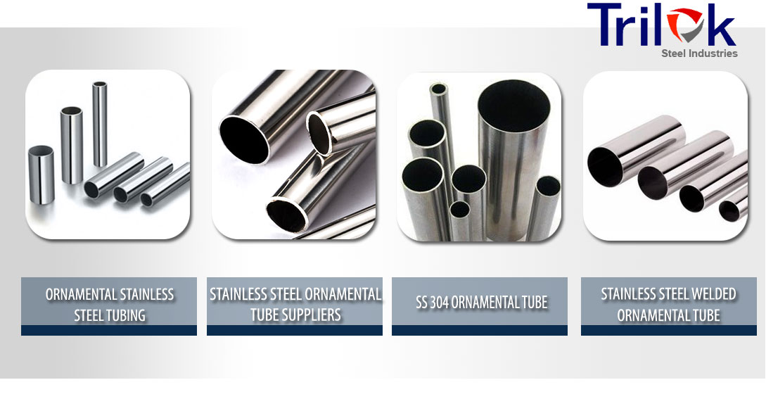 Stainless Steel Ornamental Tube Suppliers 304 Ornamental Ss Tubing