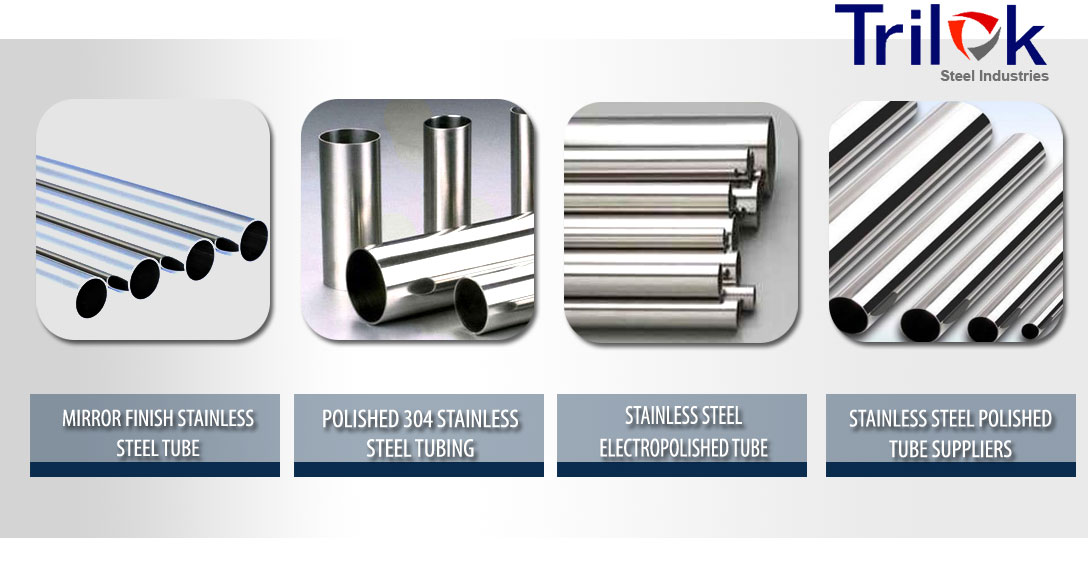 Stainless Steel Polished Tube Suppliers, 304 Polished