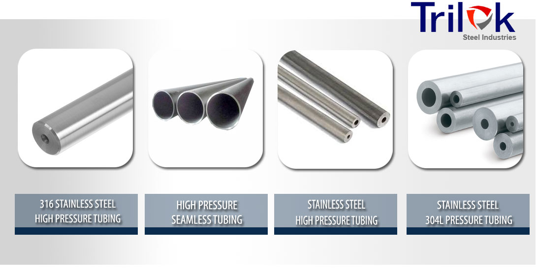 Stainless Steel Pressure Tubing Suppliers, 316 SS High Pressure Tubing