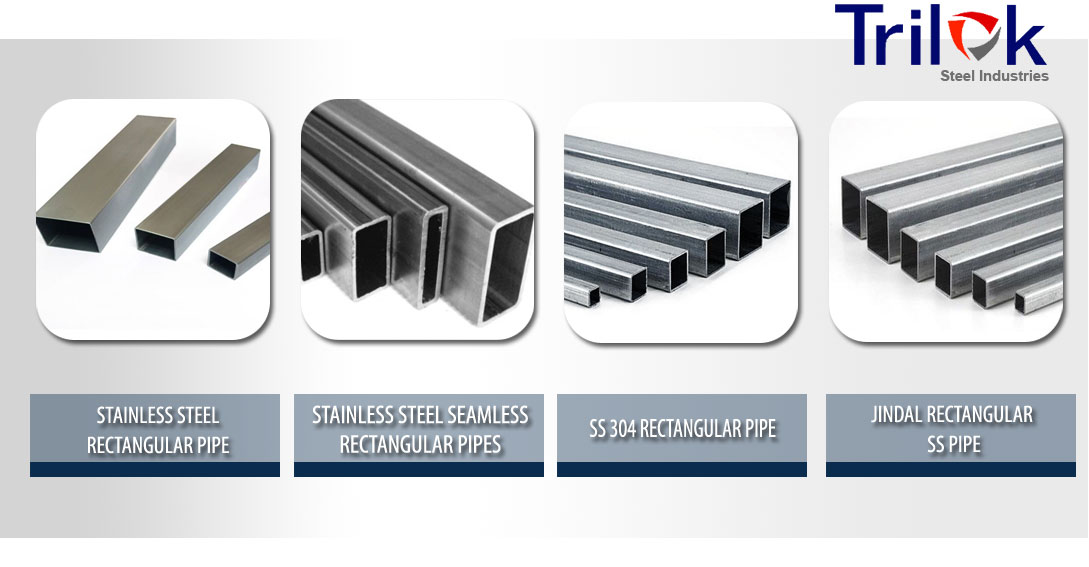 Stainless Steel Rectangular Pipe Suppliers in India