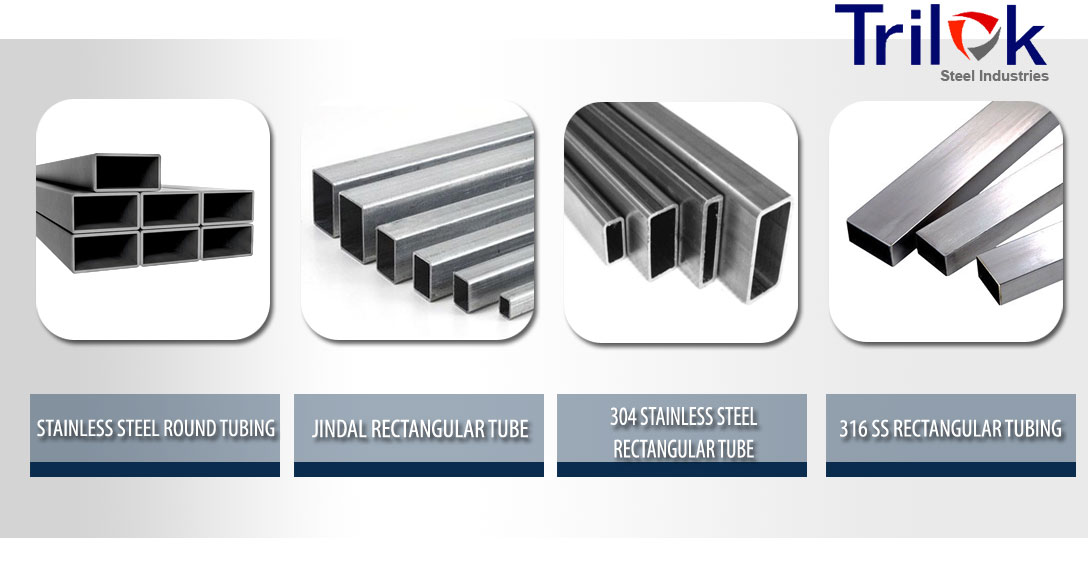 Stainless Steel Rectangular Tube Suppliers in India