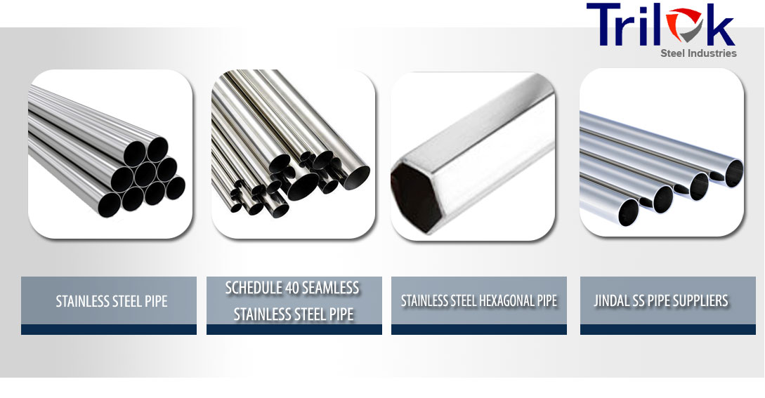 Stainless Steel Pipe Suppliers, SS Seamless Pipe & Sch 40 Seamless Pipe