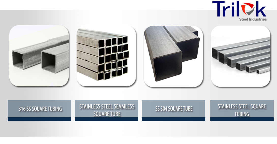 Stainless Steel Square Tube Suppliers Ss 304 Seamless Square Tubing
